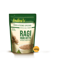 Ragi Huri Hittu [Kids & Teens Special) 400gm Indira Food Pvt. Ltd